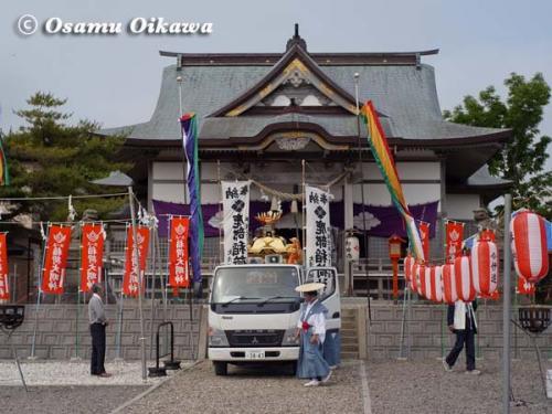 鹿部稲荷神社渡御祭 2012