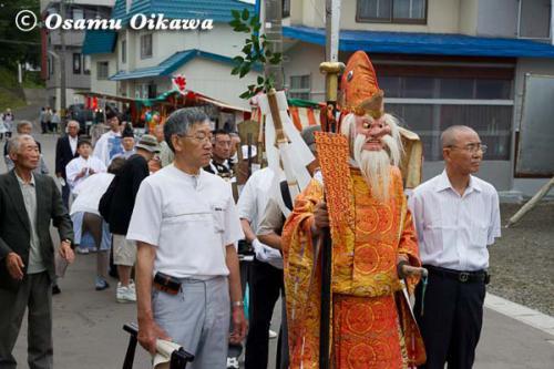 白符大神宮渡御祭 2012 神社行列