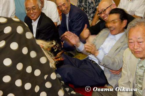 白符大神宮本祭 2012 松前神楽 十二の手獅子舞 五方