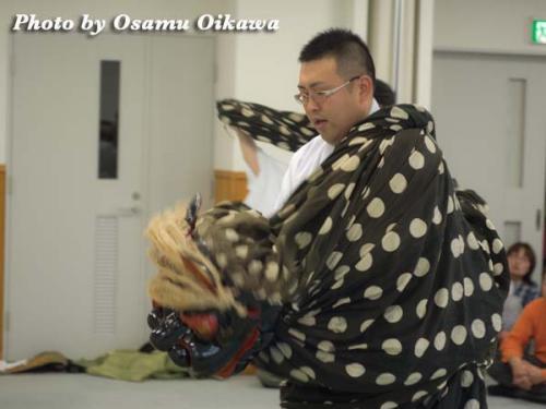 殿様街道 2012 春 松前神楽 十二の手獅子舞