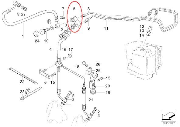 Garage Kachi R1150RT いじくり日記と時々ツーリング Non ABS仕様にするための部品リストが