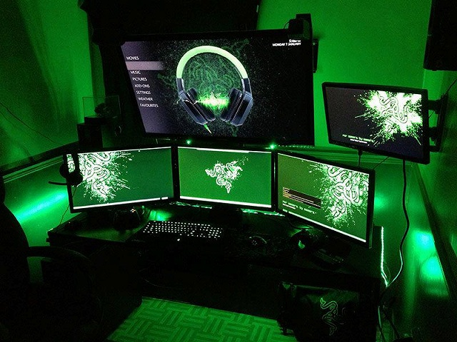 best budget computer chair tables and chairs cohoes ヲチモノ- お前等の部屋のデスクトップ見せろよ(razer/海外)④