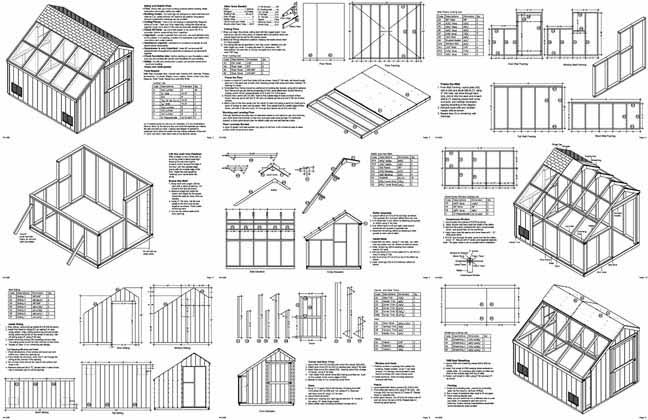 How to Build Greenhouse Plans Blueprints Free Plans
