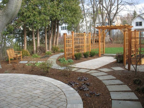 landscaping with pavers landscape