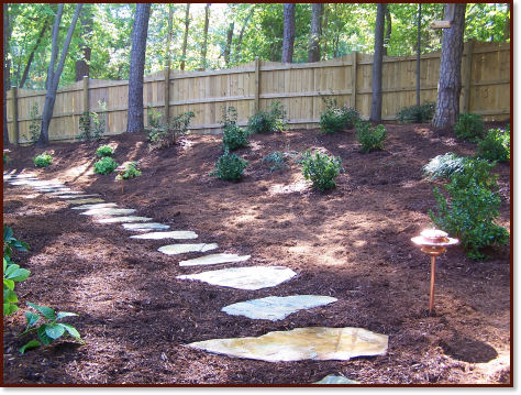 landscaping stepping stones artificial