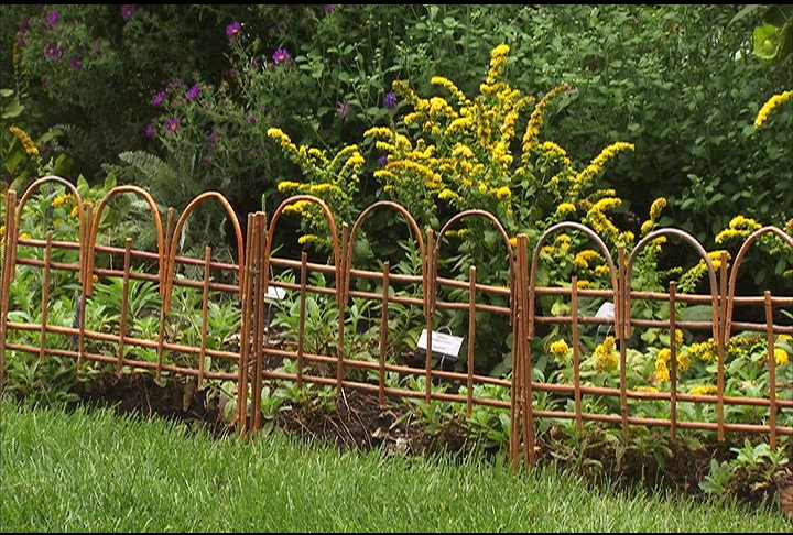 Decorative Garden Edging How To Install Garden Edging HGTV