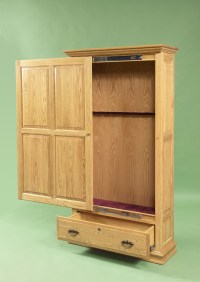 Woodworking Plans Gun Cabinet | How To build an Easy DIY ...