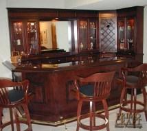 Custom Home Bar Design Ideas