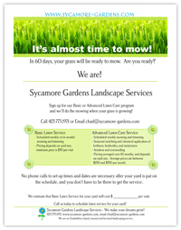 25 Landscaping Flyer Templates Online Pictures And Ideas On Pro