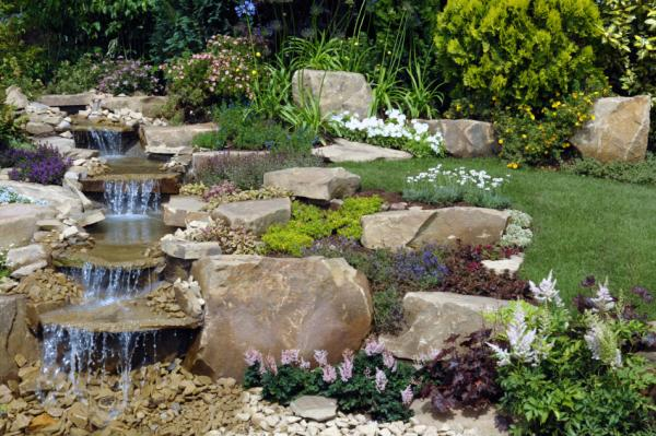 waterfalls landscape garden