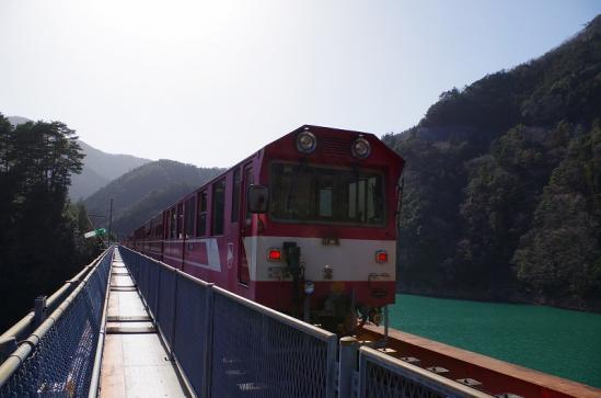 奥大井湖上駅 9