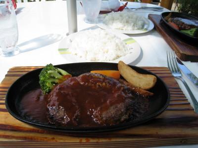 エゾシカハンバーグステーキ