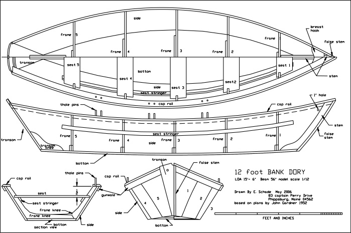Boat Dory Plans Free [How To & DIY Building Plans]