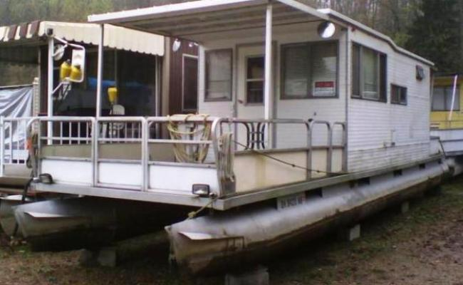 Pontoon Kits Houseboat Uk Us Ca How To Diy Download Pdf