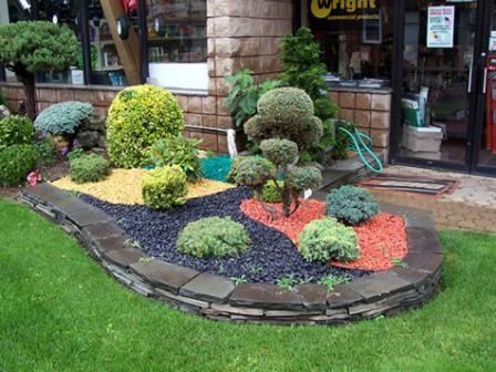 Stone Garden Design Home Design Photos Diy Fairy Garden Kit