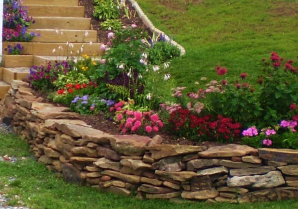 landscape rock walls landscaping