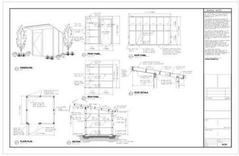 Florida Shed Plans Blueprints How to Build DIY Blueprints