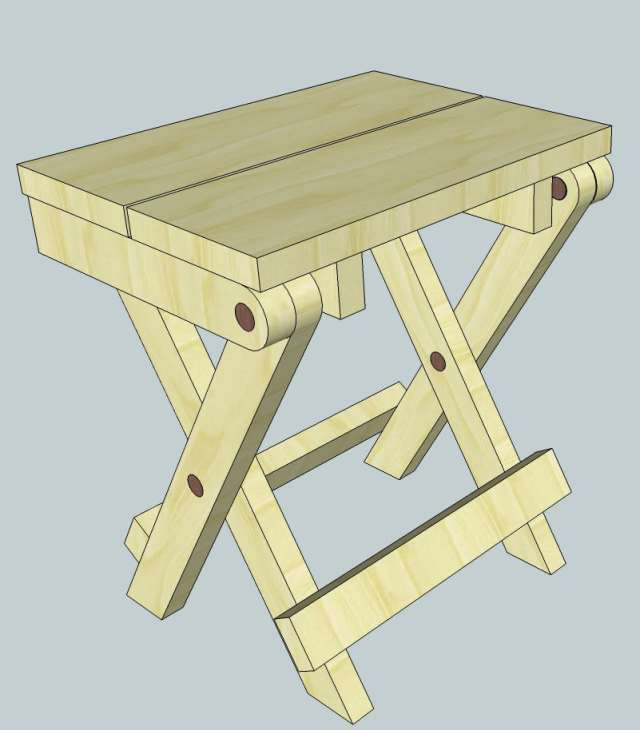 Wood Folding Table Plans
