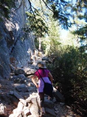 Hiking to dome PA125615