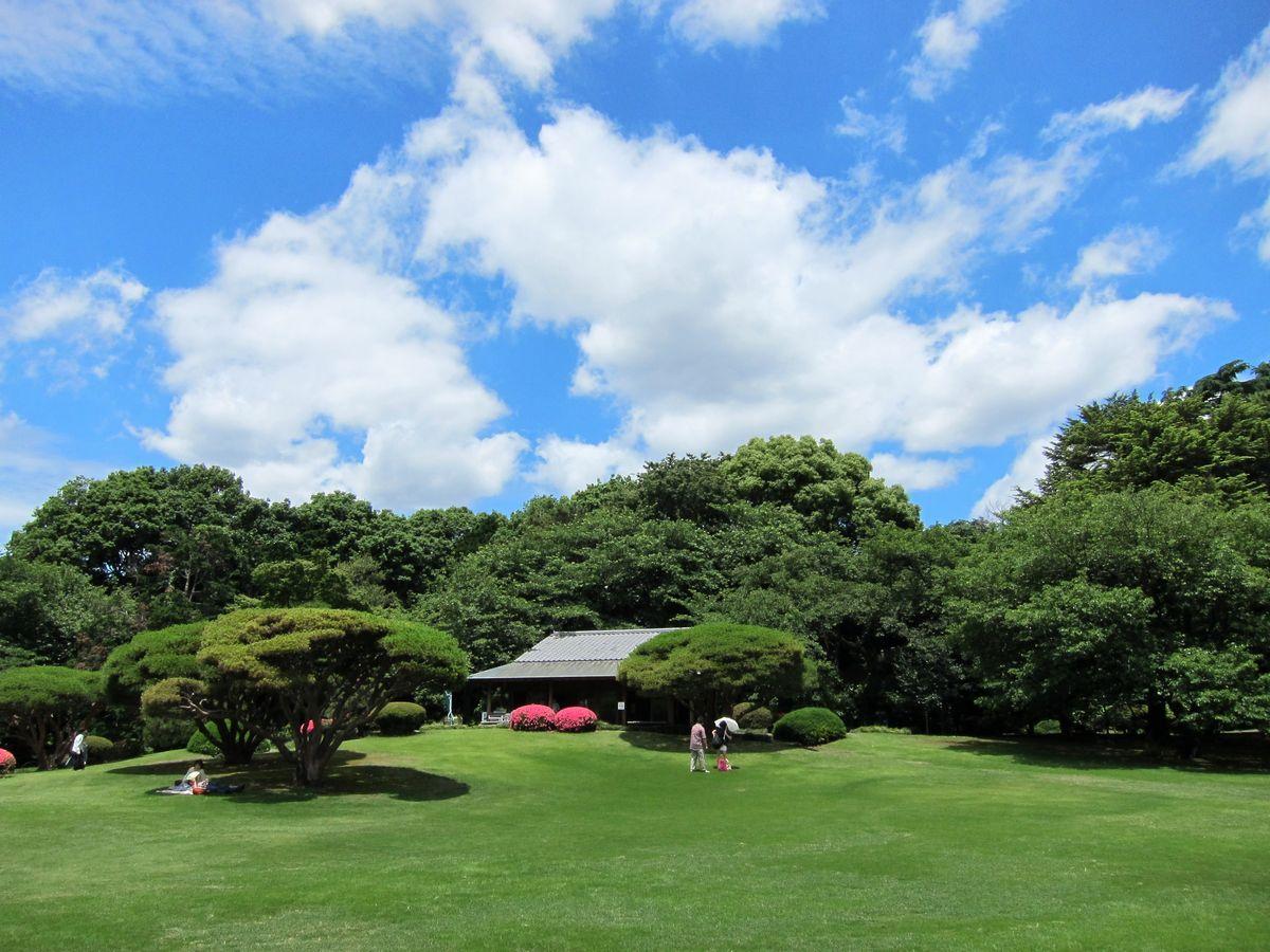 新宿御苑 3 SABOの東京名所寫真