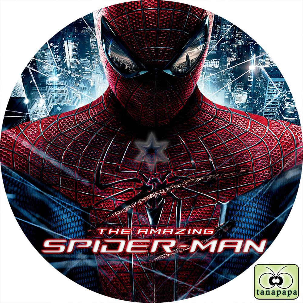 Spider Amazing Label Dvd Man