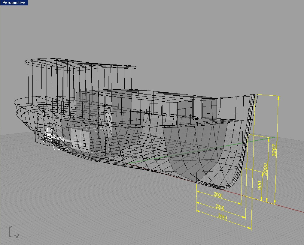 One secret: Plans for steel boat