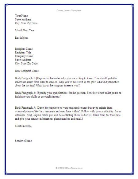 how to do a cover letter for resumes