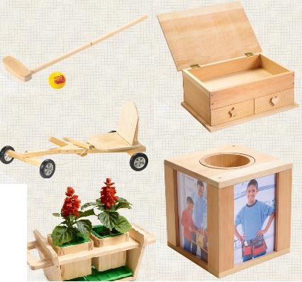 woodwork kits kids