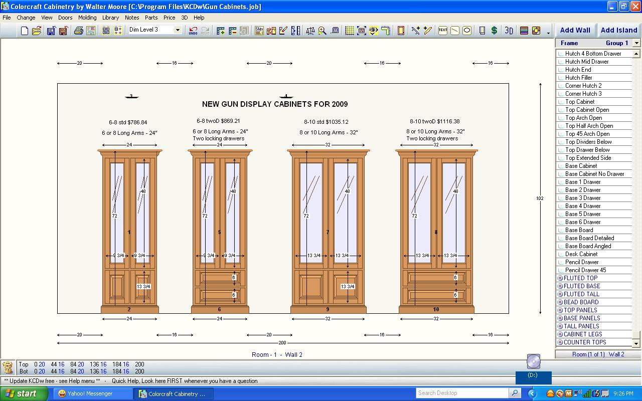 free gun cabinet designs