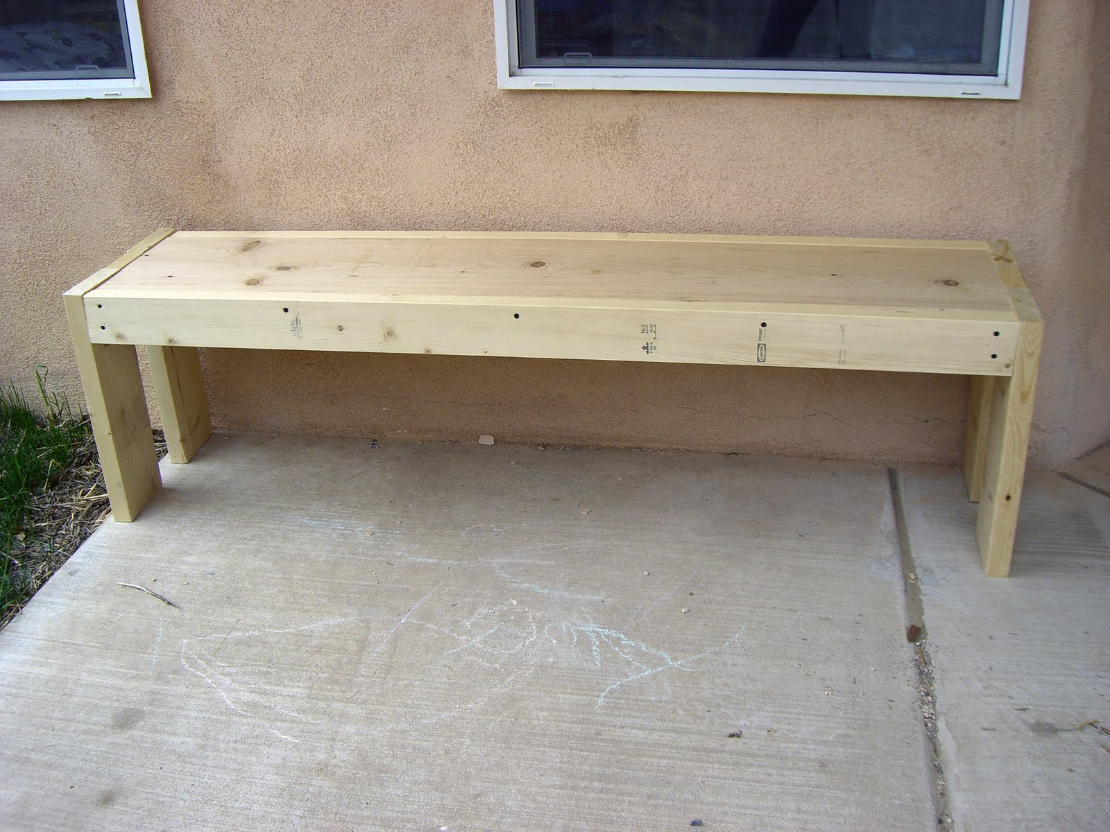Wooden Bench Plans
