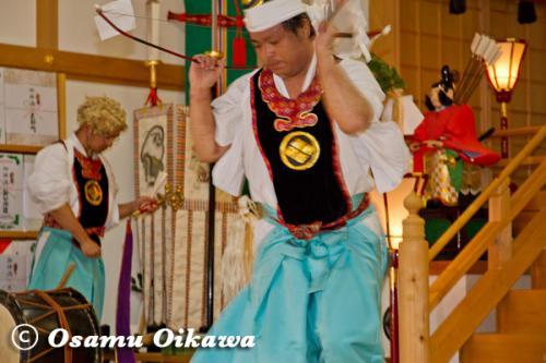 本別稲荷神社 松前神楽 神遊舞