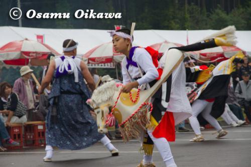 函館市 安浦駒踊り