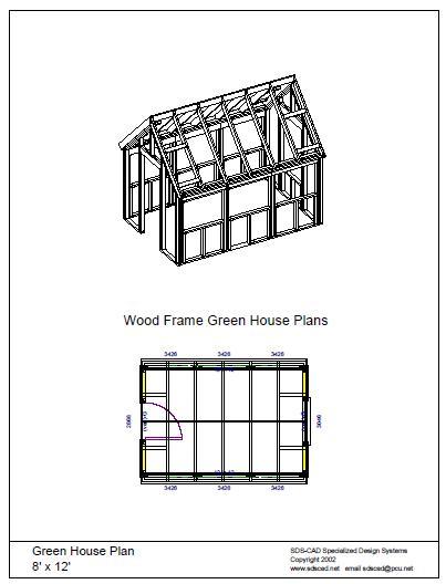 Greenhouse Plans Garden How to Build DIY Blueprints pdf