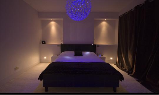 Master bedroom lighting ideas vaulted ceiling 10 Bedroom Light