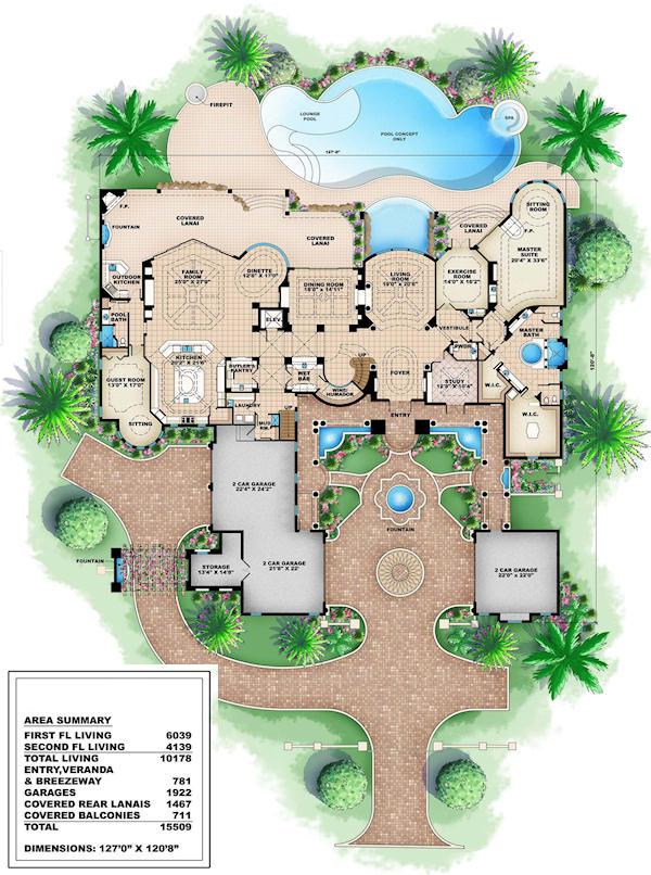 25 Best Ideas About Luxury Floor Plans On Pinterest House