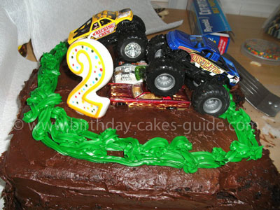 Monster Truck Cake Decorations