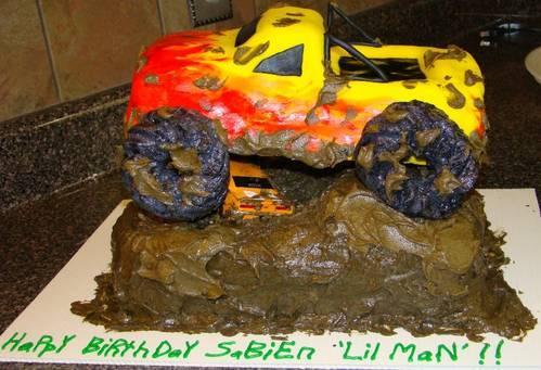 Monster Truck Cake Decorations