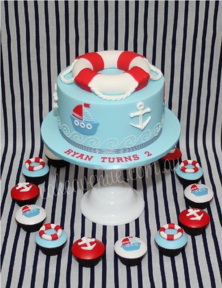 Nautical Cake Decorations