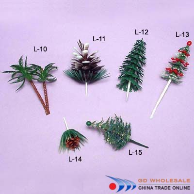 Palm Tree Cake Decorations