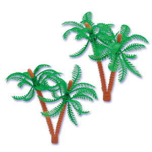 Palm Tree Cake Decorations
