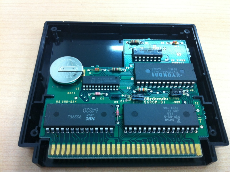 3DSはじめました。 ファミコンソフトの電池交換
