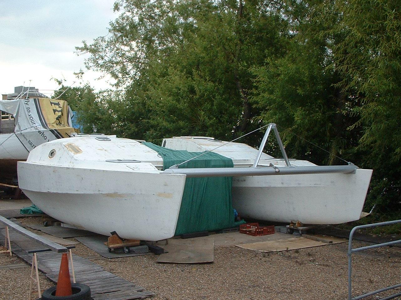 Catamaran Hull Power Plans