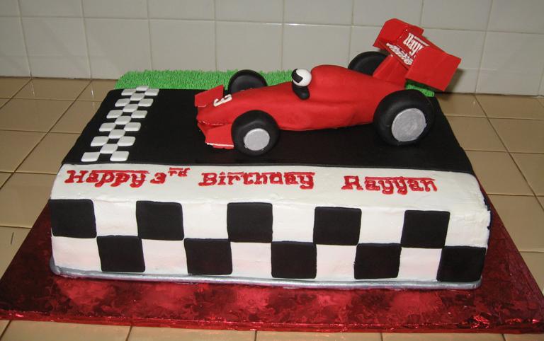 Race Car Cake Decorating Ideas Elitflat
