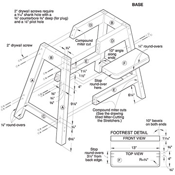 Free Plans To Build A Wooden High Chair PDF Woodworking