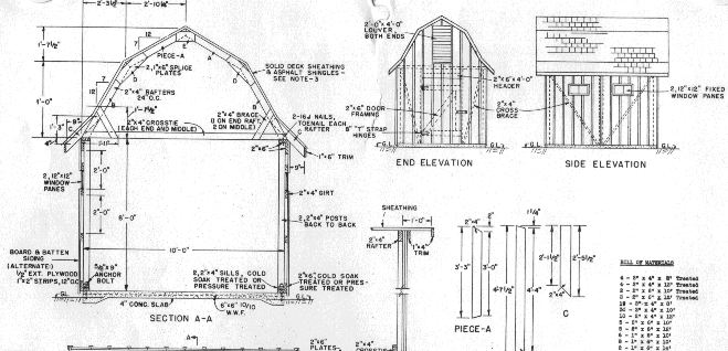 Shed Plans 201212