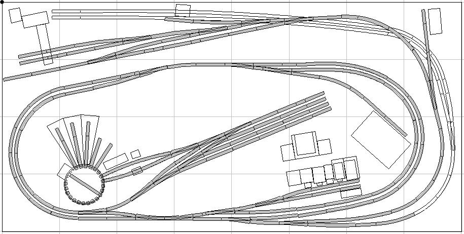 4 By 8 N Scale Track Plans Download Layout Design Plans
