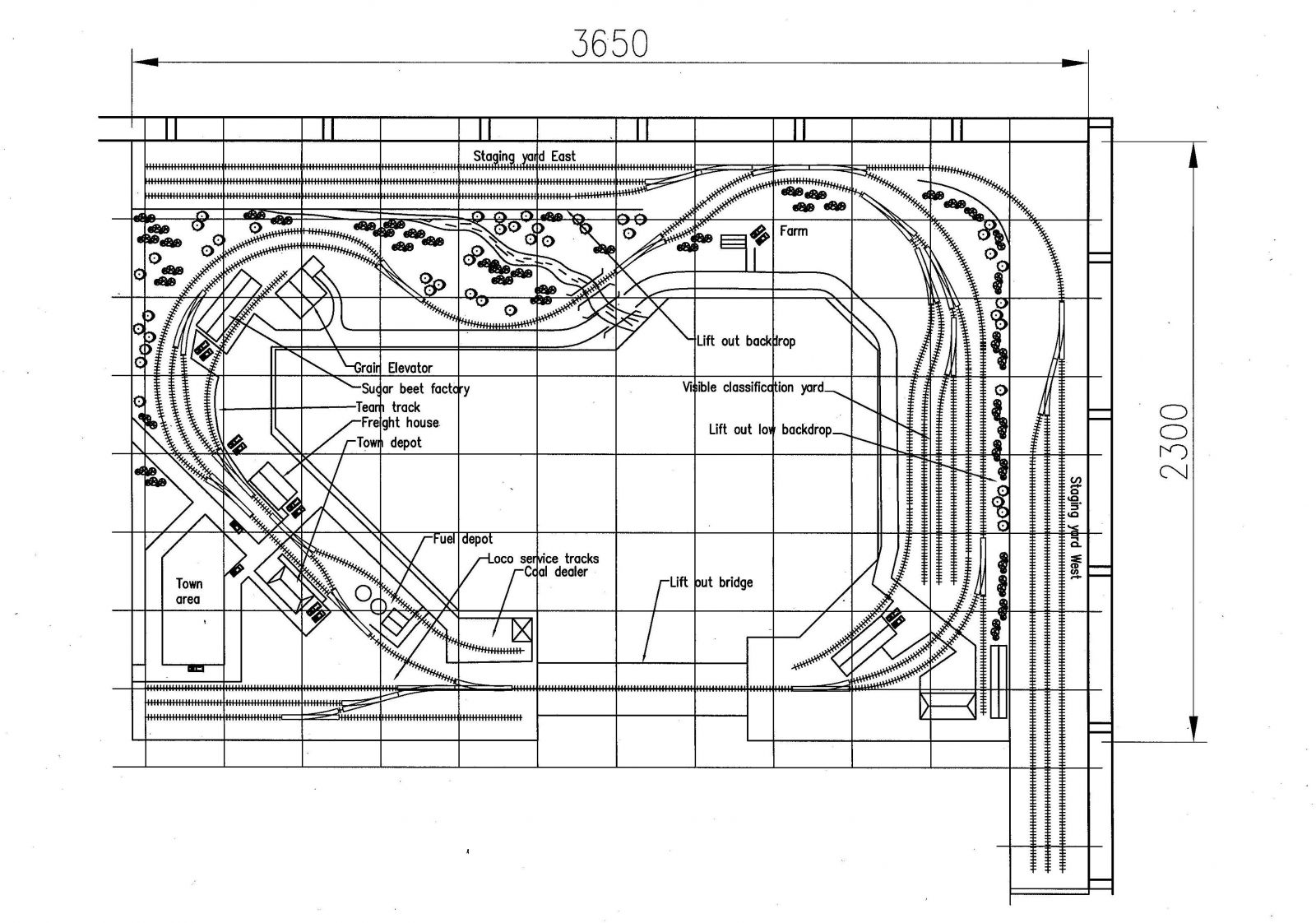 Ho Scale Layout Plans Free Download Layout Design Plans