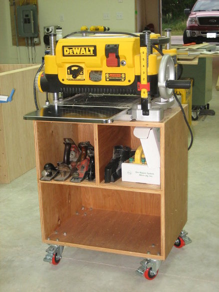 Mobile Planer Stand Plans