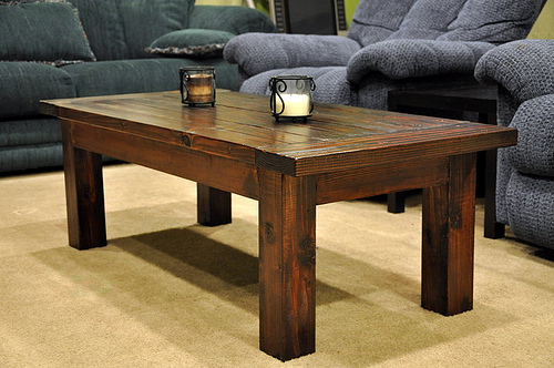Wood Coffee Table Plans Use woodworking plans to make a coffee table