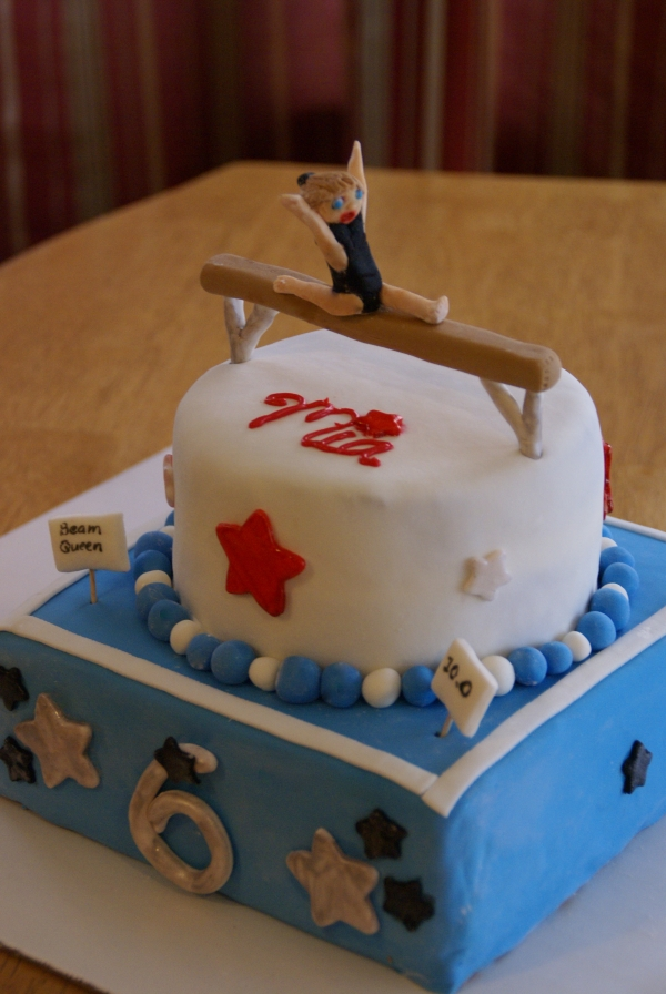 Gymnastics Cake Decorations Cake Ideas And Designs